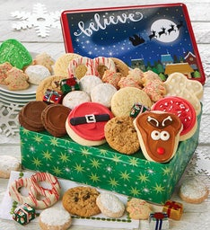 Believe Gift Tin - Holiday Treats Assortment