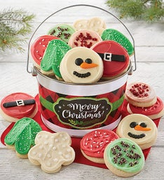 Merry Christmas Cookie Gift Pails
