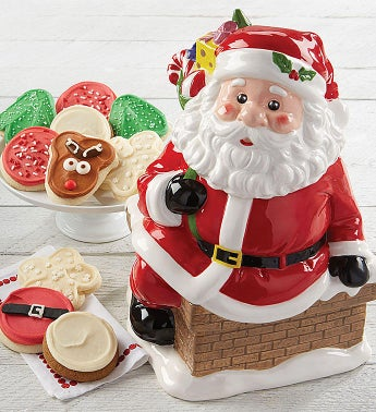 6c3d8f3d706e9 Collector s Edition Santa Cookie Jar