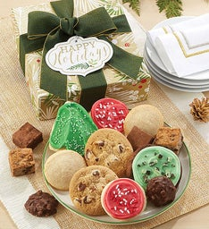 Happy Holidays Treats Gift Box