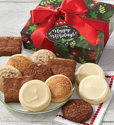 Gluten free cookies and brownies cheryls gluten free happy holidays cookie and brownie gift box negle Choice Image