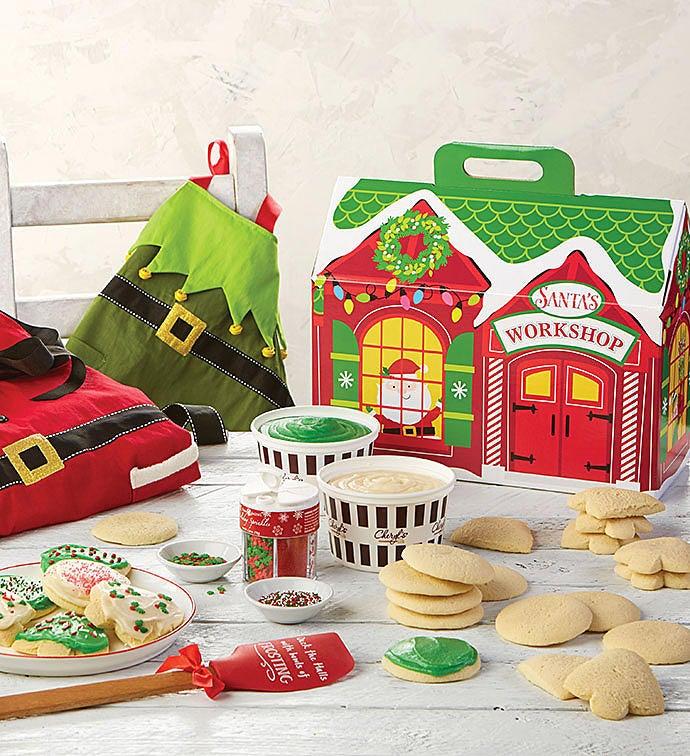Christmas Cookie Decorating Kit.Cheryl S Holiday Cut Out Cookie Decorating Kit