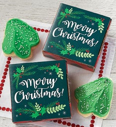 Merry Christmas Cookie Card
