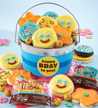 Happy Birthday Cookie Pail by Cheryl's