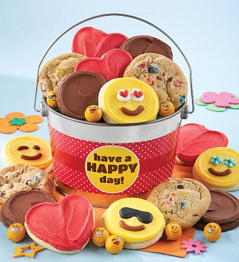 Have a Happy Day Cookie Pail