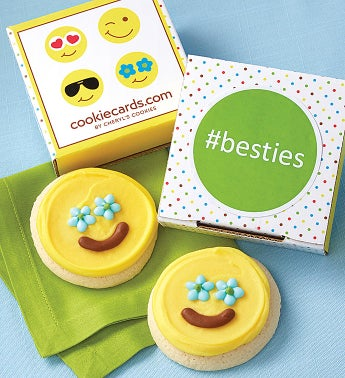 besties Cookie Card