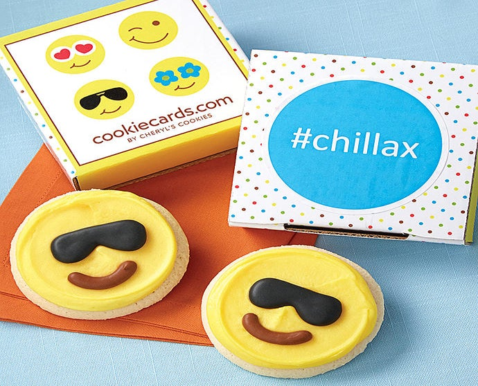chillax Cookie Card