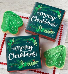 Create Your Own Merry Christmas Cookie Card