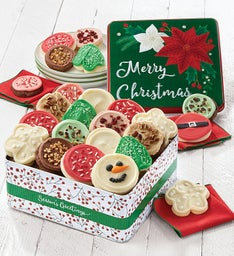 Premier Merry Christmas Gift Tin  - Frosted Assortment