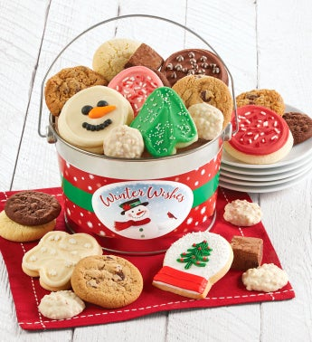 Snowman Treats Pail