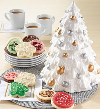 Collector's Edition Christmas Tree Cookie Jar