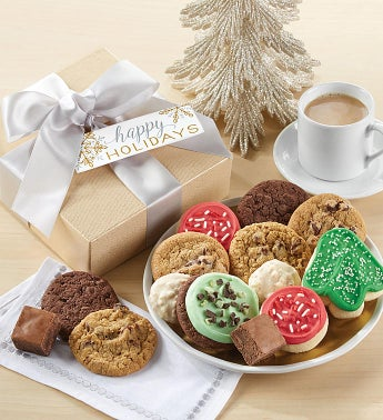 Happy Holidays Sparkling Treats Gift