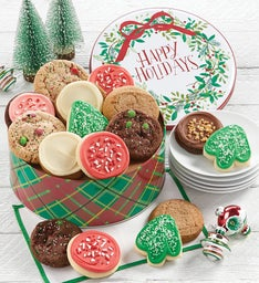 Happy Holidays Gift Tin  Holiday Assortment