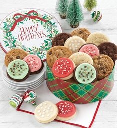 Happy Holidays Gift Tin  Create Your Own Assortment