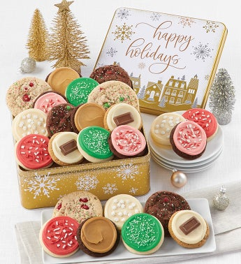 Premier Happy Holidays Gift Tin - Create Your Own Assortment