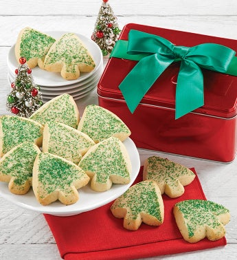 Cheryls Butter Shortbread Cookies Gift Tin