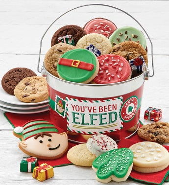 Youve Been Elfed Treats Pail