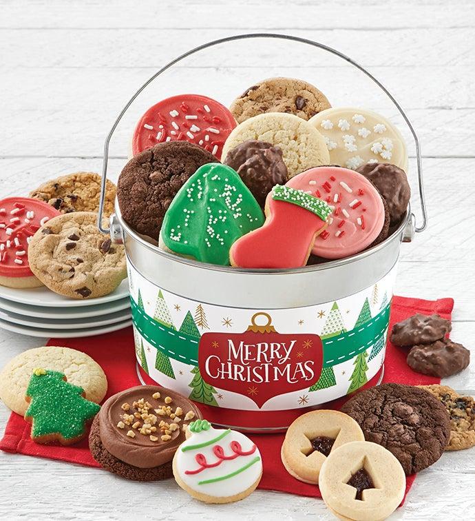 Merry Christmas Treats Pail