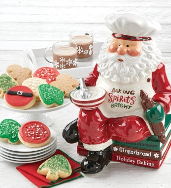 Collectors Edition Santa Cookie Jar