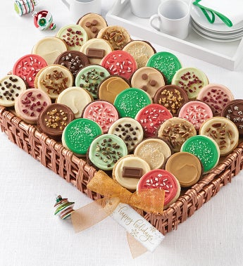 Buttercream Frosted Flavors Cookie Gift Basket - Large
