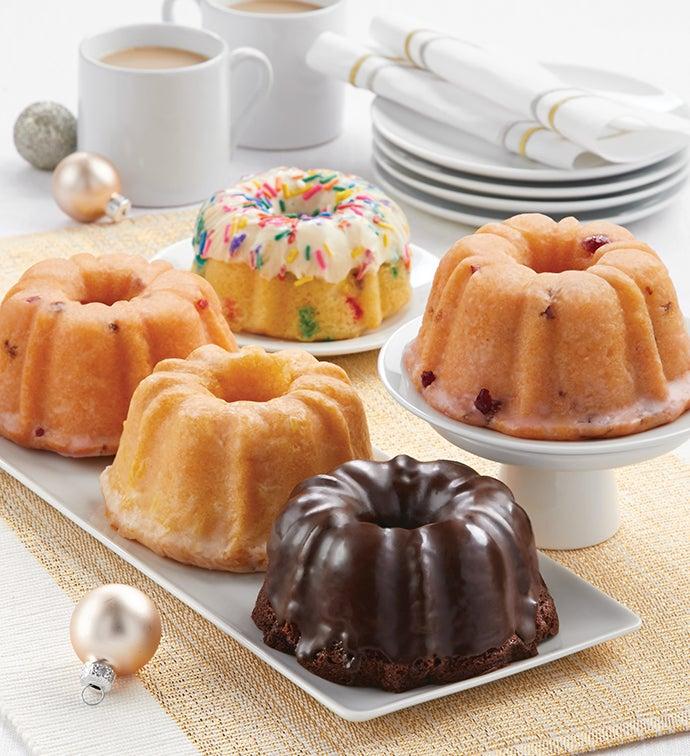 Miss Grace Mini Bundt Cake Holiday Sampler