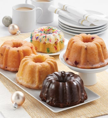 Miss Grace Mini Bundt Cake Holiday Sampler