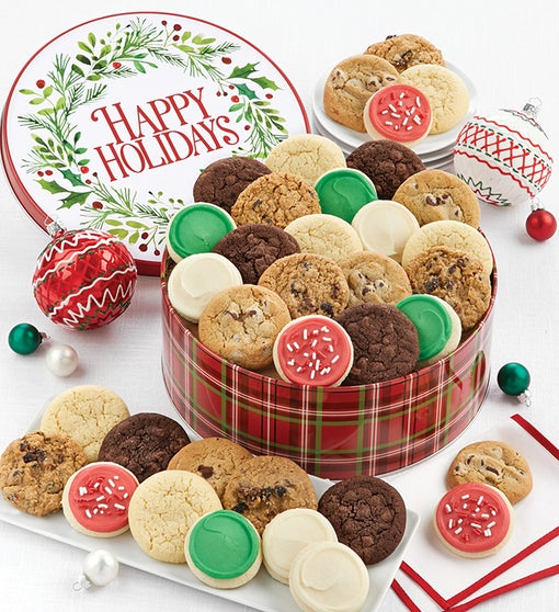 Grand Happy Holidays Gift Tin