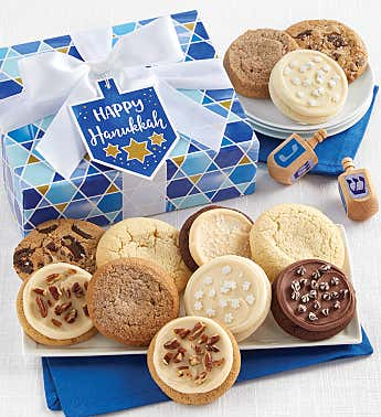 Happy Hanukkah Cookie Gift Boxes