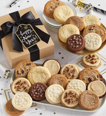 Happy New Year Cookie Gift Boxes Years 12Pc Box