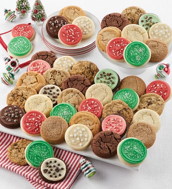 Deluxe Assorted Holiday Cookie Box
