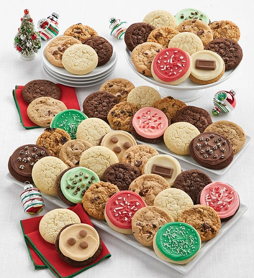 Assorted Holiday Cookie Gift Box
