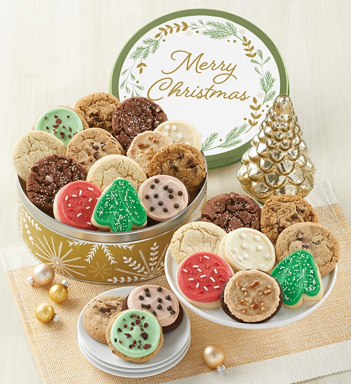 Premier Sparkling Merry Christmas Gift Tin – Assorted