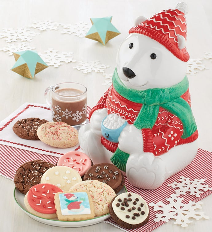 Collector's Edition Polar Bear Cookie Jar