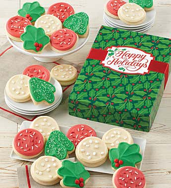 Cheryl's Buttercream Frosted Cut-Out Cookie Gift Boxes