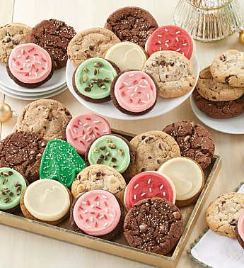 Bow Gift Box - Classic Holiday Cookie Assortment