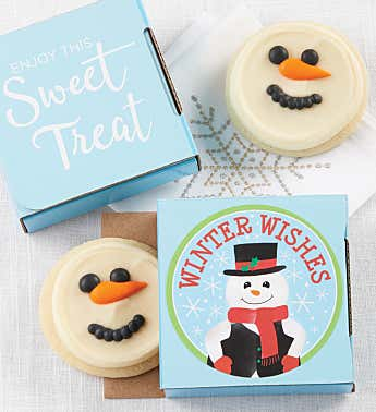 Winter Wishes Cookie Card
