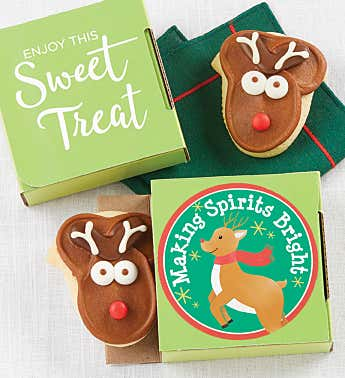 Making Spirits Bright Cookie Card