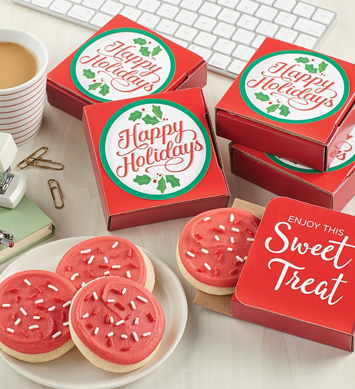 Happy Holidays Cookie Cards Cases