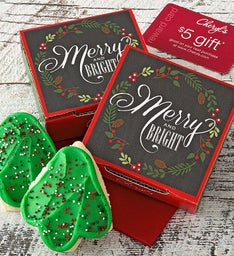 Merry and Bright Cookie Card Case