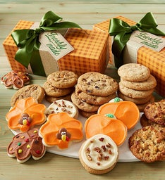 Thanksgiving Gift Box - Assorted Cookies