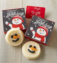 Happy Holidays Cookie & Gift Card