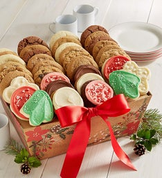 Holiday Plaid Cookie Tray