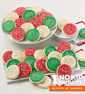 Cheryl's Cookies® Buttercream Frosted Holiday Cookie Box