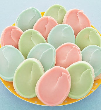 Frosted Egg Cutouts