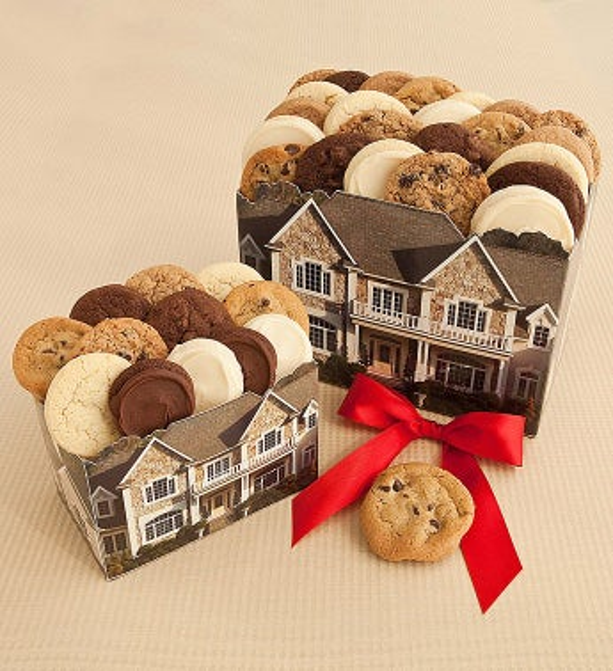 Small House Box 12 Mini Cookies