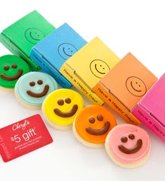 Cheryls Happy Face Cookie & Gift Card