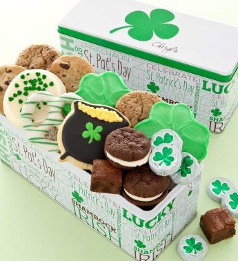 St Patricks Day Gift Tin - Treats Assortment