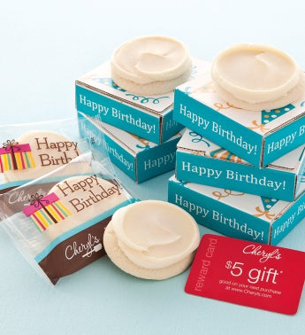 Happy Birthday Cookie & Gift Card