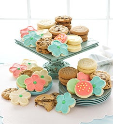 48 Assorted Springtime Cookies