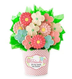 Friend Cookie Flower Pot